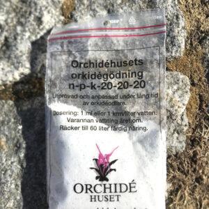 Näring för orkidéer