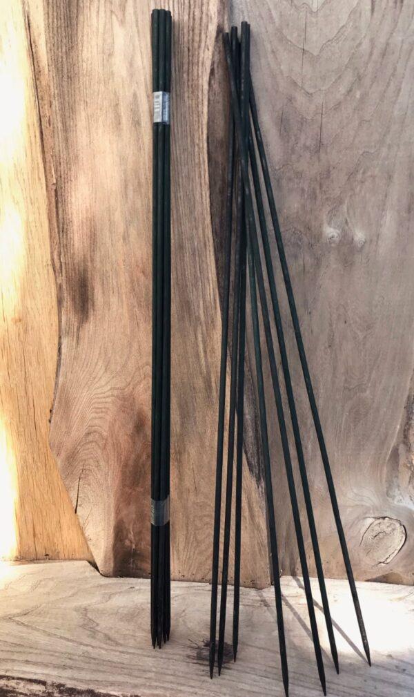 Blompinnar, 60 cm, grönsvart, 20 stycken