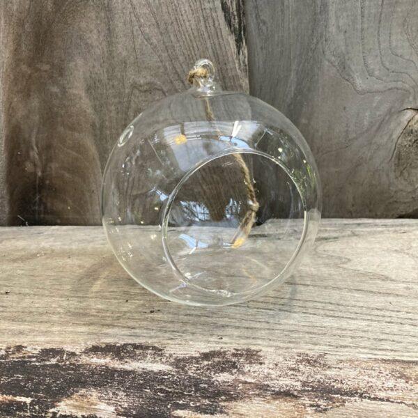 Glasklot, rund, 12 cm